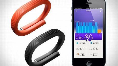 Le Jawbone UP 24, pour partager toute son activité physique avec ... - Le Figaro   Objets Connectés   Scoop.it