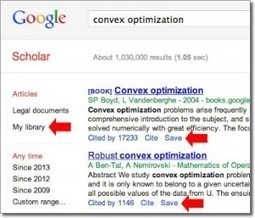 Google Scholar Adds Option to Save Citations | LJ INFOdocket | Beyond the Stacks | Scoop.it