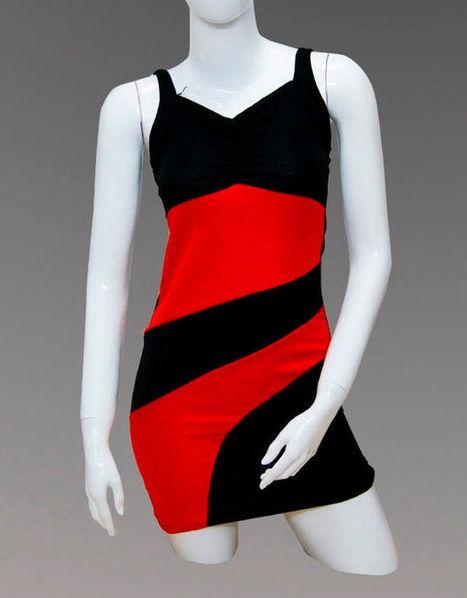 New Interlaced Sleeveless Women Party Mini Dress Dresses   Women Dresses   Scoop.it