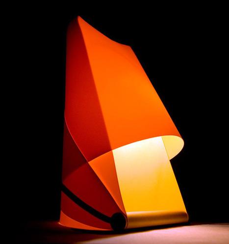 Lamp FUROSHIKI by studio ENTREAUTRE | Fresh design | Scoop.it