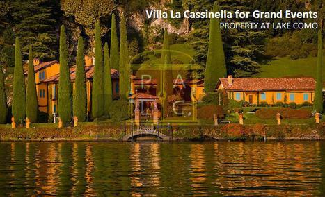 Villa La Cassinella - Perfect Place in Lake Como Region to Host Your Special Event - Real Estate Services Lake Como | Property at Lake Como | Scoop.it