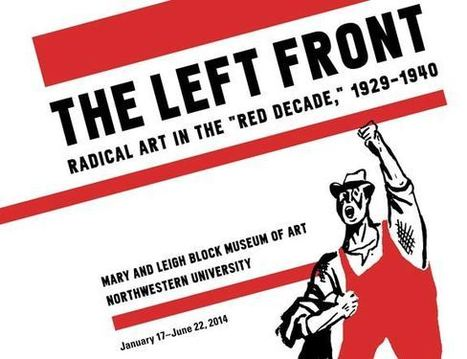 The Left Front: Radical Art in the 1930s 'Red Decade'   Cartoon Brew   Ancient Art   Scoop.it