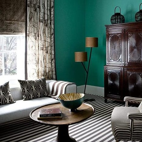 Living Room Paint Ideas: Find Your Home's True Colors   Designing Interiors   Scoop.it