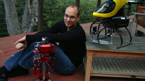 "Google Puts Money on Robots, Using the Man Behind Android | L'impresa ""mobile"" 