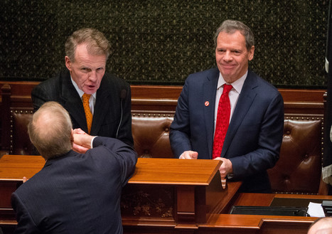Madigan rejects Rauner's approach linking business changes to budget | Illinois Legislative Affairs | Scoop.it