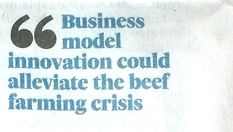 Could the Business Model Canvas help farmers (our piece in The Irish Times) | Doing business in Ireland | Scoop.it