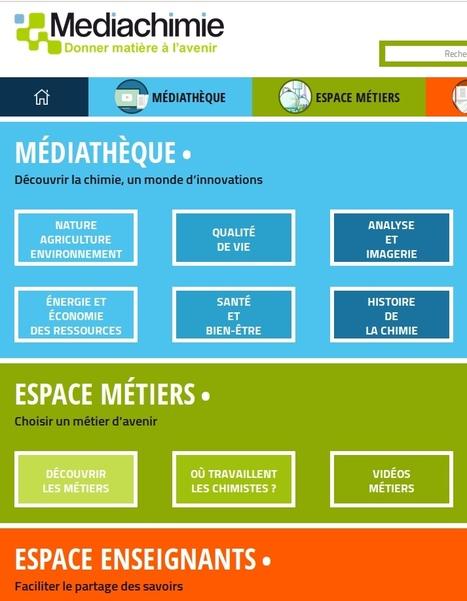 La médiathèque de Médiachimie | TICE, Web 2.0, logiciels libres | Scoop.it