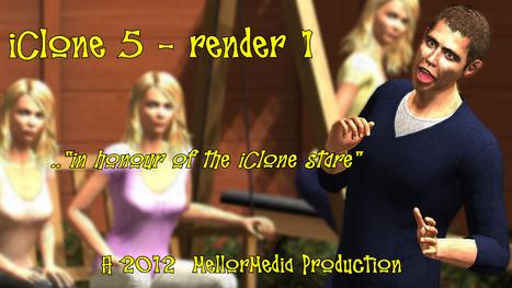 iClone 5 - Render 1 | 3D or not 3D? An iClonian venture | Digital Teesside | Scoop.it