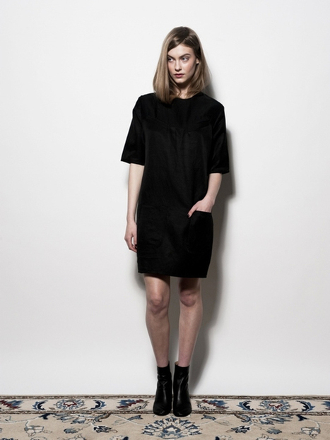 Carly Hunter Pocket Dress | New, Independent & Emerging Fashion | Scoop.it
