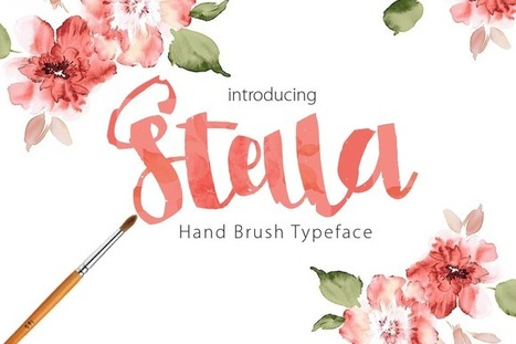 Stella Brush font free - Free Vector Art | freevectors | Scoop.it