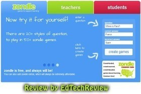 Zondle - Game Based Learning Platform for Kids - EdTechReview | Technology I should know about | Scoop.it