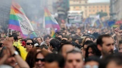 Tens of thousands celebrate Gay Pride in Rome | Gay Entertainment | Scoop.it