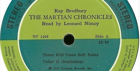 Leonard Nimoy Reads Ray Bradbury Stories From The Martian Chronicles & The Illustrated Man (1975-76) | OpenCulture | Litteris | Scoop.it
