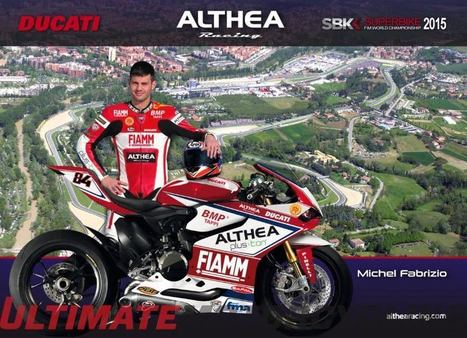 Fabrizio to Substitute for Injured Terol on Althea Ducati SBK | moto gp Monster Energy GP de Catalunya | Scoop.it