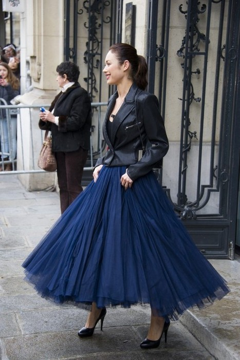Street style from couture week in Paris - via Washington Post | J'ai Deux Amours - Weddings & Paris! | Scoop.it