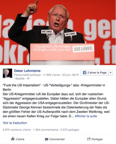 « L'impérialisme américain n'a qu'à aller se faire foutre » | Koter Info - La Gazette de LLN-WSL-UCL | Scoop.it