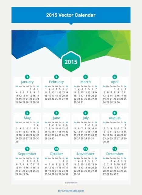 Créer un calendrier 2015 à imprimer gratuitement | Comptoir Numérique | Scoop.it