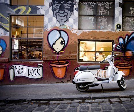 Melbourne's 40 laneways   Australian Culture   Scoop.it