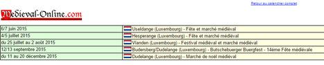 Calendrier des fêtes et marchés médiévaux - Luxembourg | Festivals Celtiques et fêtes médiévales | Scoop.it