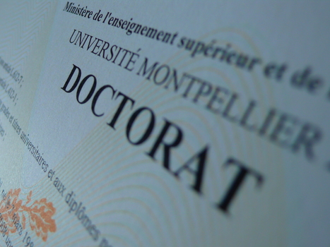 Enseignement Supérieur : Le doctorat ne rime pas toujours avec emploi | Higher Education, Research & Knowledge Management | Scoop.it
