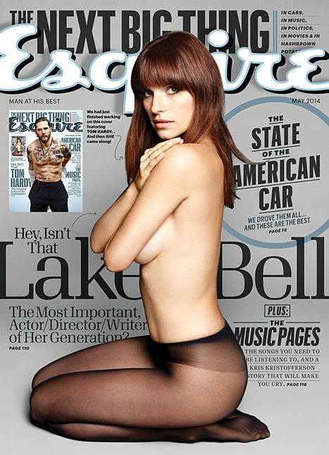 Topless Lake Bell on the cover of Esquire | Fashion Trends | Scoop.it