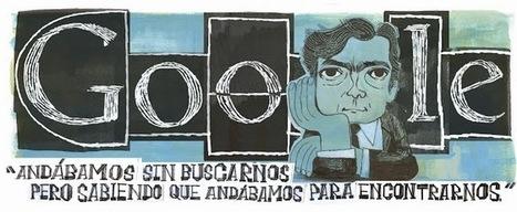 Julio Cortázar's 100th Birthday: Google Doodle - Doodle 4 Google Today | SEO Traffic Engine | Scoop.it