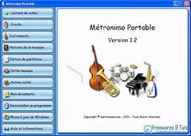 Métronimo Portable : une compilation de logiciels portables pour apprendre la musique en s'amusant   Time to Learn   Scoop.it
