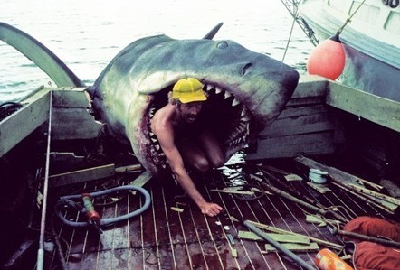 """Behind the scenes of """"Jaws"""", Martha's Vineyard, 1974   All Geeks   Scoop.it"""