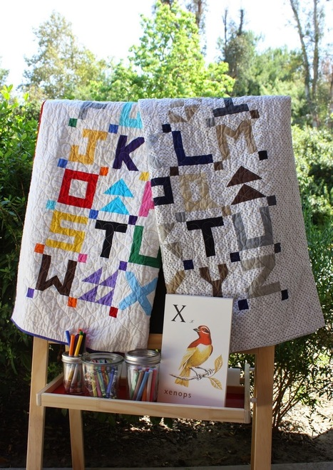 Temecula Quilt Company: Back To School - Little Letters | Patchwork | Scoop.it