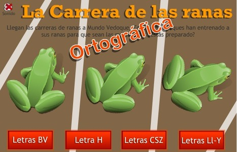 La carrera de ranas ortográfica - Lengua - Primaria - | educacion | Scoop.it
