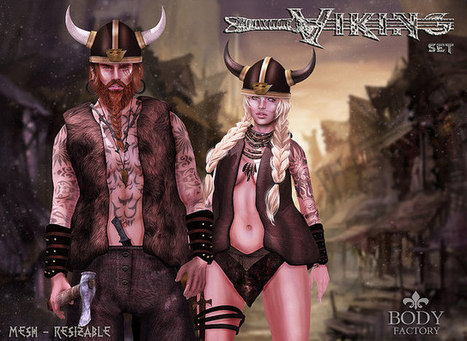 New Exclusive for The Fantasy Collective | Second Life Goodies | Scoop.it