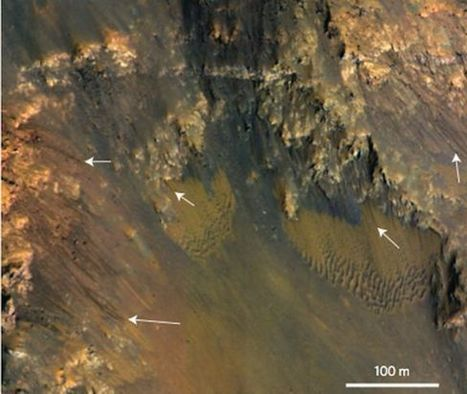 Water May Be Flowing On Mars Right Now | Sci-fi geek: My alter ego! | Scoop.it