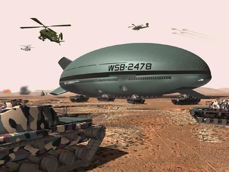 Military zeppelin to land cargo sans runway | VIM | Scoop.it