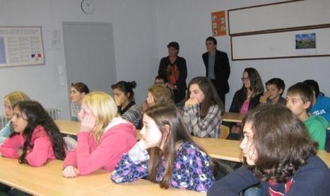 Collège Voltaire : une approche des métiers - LaDépêche.fr | Collège Voltaire Capdenac Gare | Scoop.it
