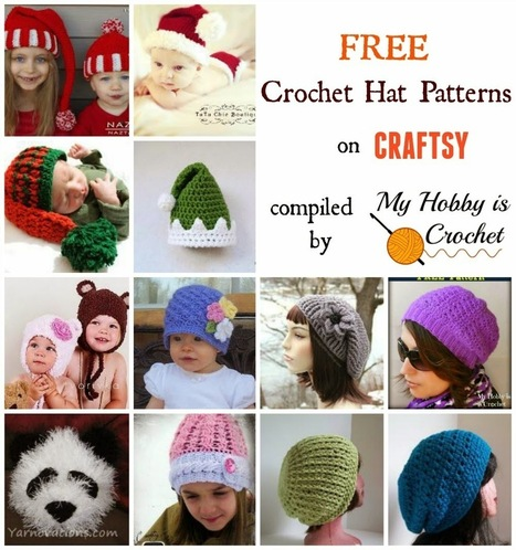 My Hobby Is Crochet: Visit Craftsy's Free Crochet Patterns Gallery | Free crochet patterns and tutorials | Scoop.it