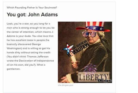 Which Founding Father Is Your Soulmate? | History 101 | Scoop.it