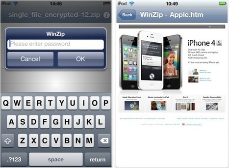 WinZip llega a los dispositivos iOS - Nuevas Tecnologias   Aplicaciones en la Educación   Scoop.it