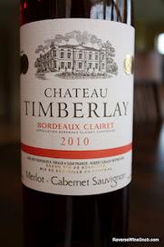 "The Reverse Wine Snob: Chateau Timberlay Bordeaux Clairet 2010 - Pure Fruit! | Clairet : a very special Bordeaux Wine, a ""rosé on steroids"" | Scoop.it"