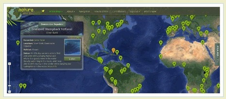 Google Maps Mania: The Natural Sounds of Planet Earth | Ecophilia | Scoop.it