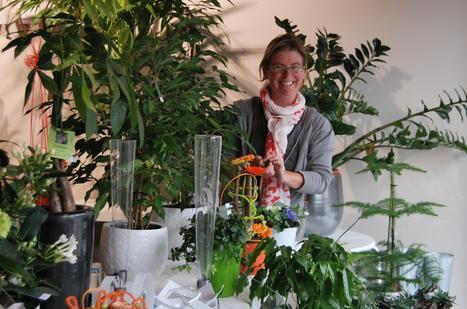 Caroline ne voulait pas être fleuriste - lavenir.net | Mini-sites faire-part | Scoop.it