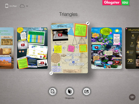 The First Glimpse of the Glogster EDU iPad App | The 1 iPad Classroom | Scoop.it
