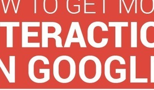 How To Get More Interaction On Google+ [INFOGRAPHIC] | Marketing and Creative Services | Scoop.it