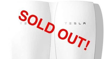 Elon Musk's Tesla Battery So Popular It Sold Out Through 2016 | Investing in Renewable Energy | Scoop.it