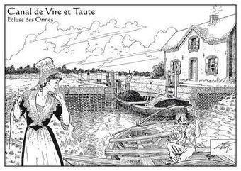 Canal de Vire et Taute - Dictionnaire des canaux et rivières de France | marais de carentan | Scoop.it