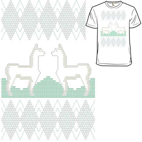 ASCII Argyle and Alpacas (approx.) | ASCII Art | Scoop.it