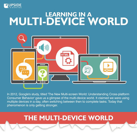 Learning in a Multi-device World (Infographic) | The Upside Learning Blog | Learning Happens Everywhere! | Scoop.it