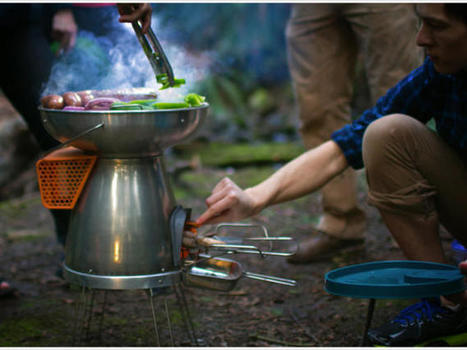 Charge your gadgets with wood and fire while you grill - CNET | Technology and Gadgets | Scoop.it