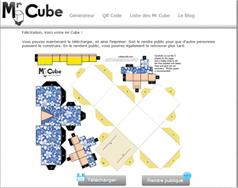 Mr. Cube QRcode avec ou sans colle - Educavox | Apps for EFL ESL | Scoop.it