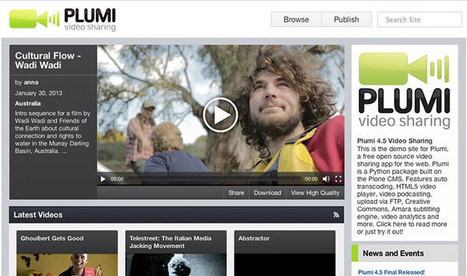 Plumi Blog | Create your own video-sharing site using the Plumi free software video platform | learning design | Scoop.it