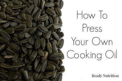 Video: How To Press Your Own Cooking Oil | Environnement Et Faune | Scoop.it